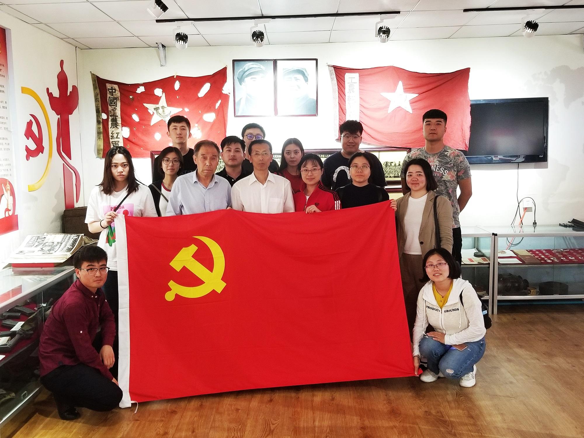 2018.05.18徐恩惠個人國防教育展覽室參觀學習